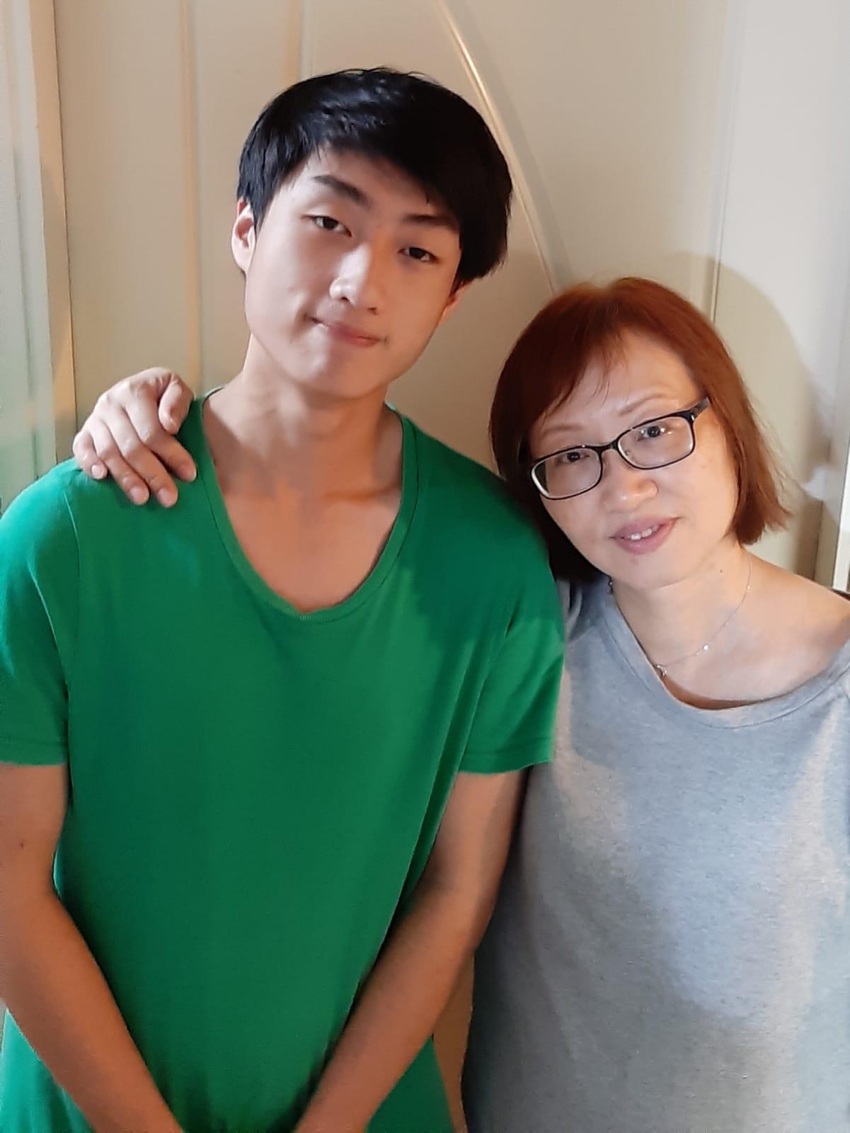 陳澤林母親